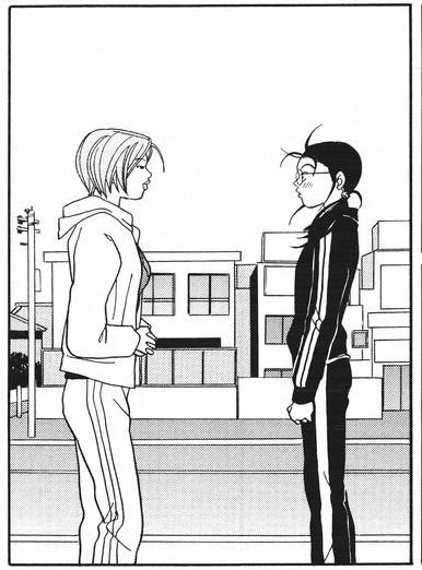 Yankumi face to face with Fujiyama