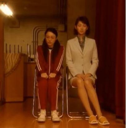 drama!Yankui and Fujiyama sitting next to each other awkwardly