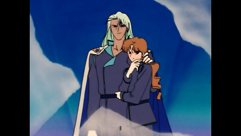 Kunzite with a possessive hand on Zoisites hair