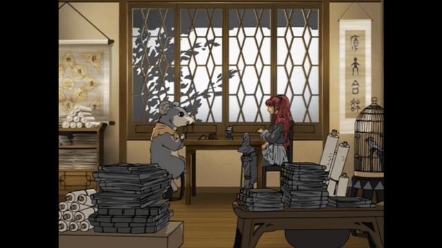 Yoko and Rakushun from Twelve Kingdoms