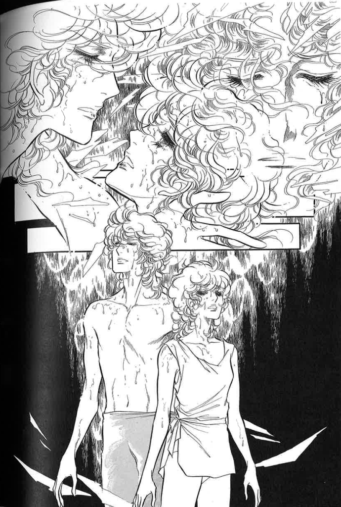 (Masumi and her dance partner Leon after dancing Jerome Robbin's Afternoon of a Faun)