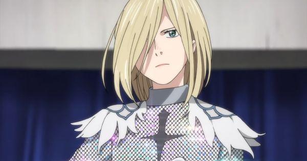 "Yurio in his white ""agape"" costume"
