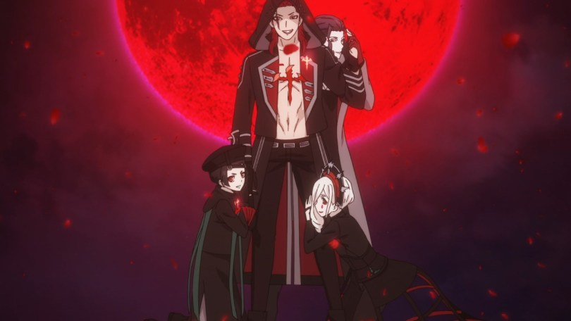 Meet the boys of Lost Eden, a rock meets visual-kei vampire band determined to seize power.