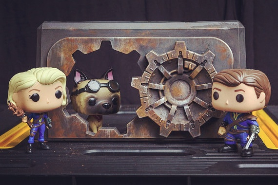 vault door and pops - Fallout