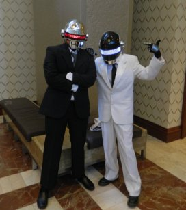 Anime Boston 2013 - Cosplay - Daft Punk 001