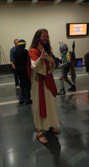 Anime Boston 2013 - Cosplay - Jesus 001