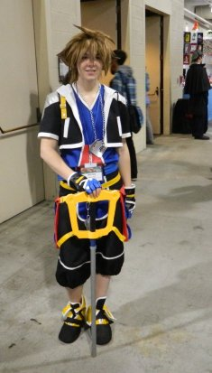 Anime Boston 2013 - Cosplay - Kingdom Hearts 001