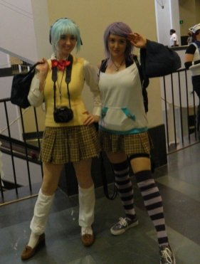 Anime Boston 2013 - Cosplay - Rosario Vampire 002