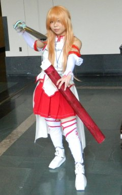 Anime Boston 2013 - Cosplay - Sword Art Online 001