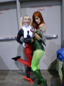 RI Comic Con 2013 - Harley and Ivy Cosplay 001