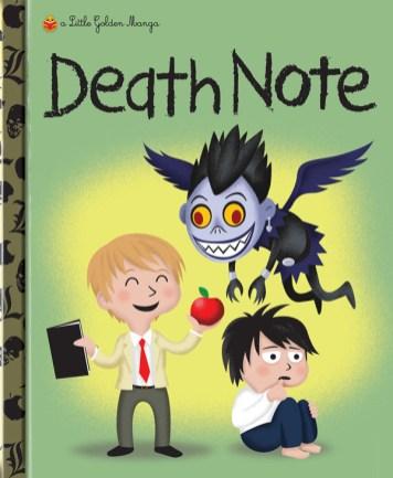 Little Golden Manga Death Note