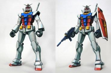 Anime RX-78-2 Gunpla 002 - 20141126