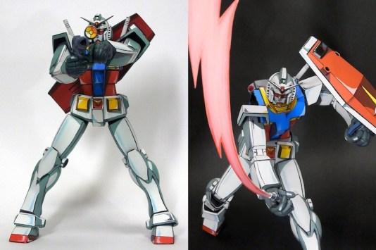 Anime RX-78-2 Gunpla 018 - 20141126