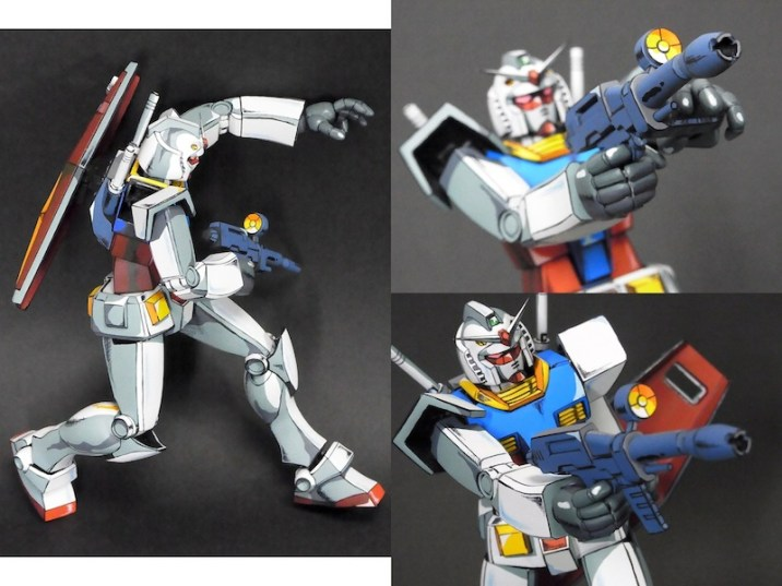 Anime RX-78-2 Gunpla 021 - 20141126
