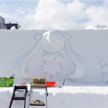 Snow Miku WIP 001 - 20150130