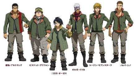 Mobile Suit Gundam Iron-Blooded Orphans Character Visual Group 001 - 20150822