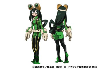 Tsuyu Asui (Hero Costume)