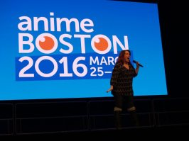 Anime Boston 2016 - Opening Ceremonies - Monica Rial 006 - 20160330