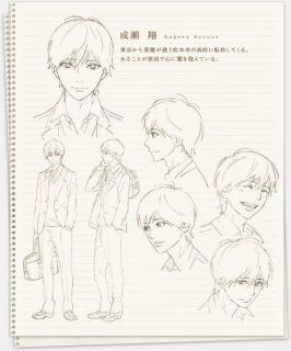 Orange Character Visual Kakeru Naruse 002 - 20160311