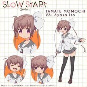 Slow Start Character Visual - Tamate Momochi 001 - 20171213