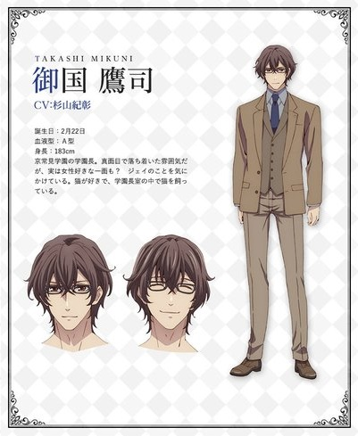 Butlers Chitose Momotose Monogatari Character Visual - Takashi Mikuni 001 - 20180126