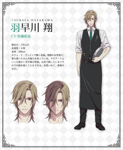 Butlers Chitose Momotose Monogatari Character Visual - Tsubasa Hayakawa 001 - 20180126