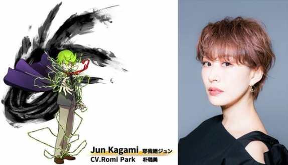 Mecha-Ude Character Visual - Jun Kagami 001 - 20180203