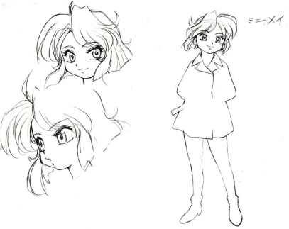 Bean Bandit Character Visual - Minnie May