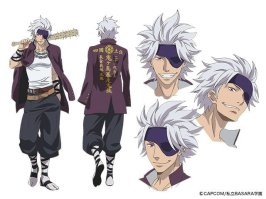 Gakuen Basara Character Visual - Chosokabe Motochika