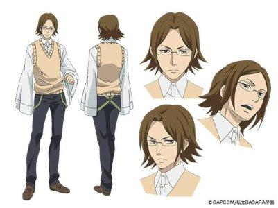 Gakuen Basara Character Visual - Mori Motonari