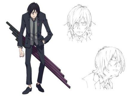 SSSS Gridman Character Visual - Samurai Caribar