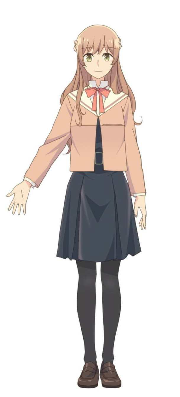 Bloom Into You Anime Character Visual - Sayaka Saeki