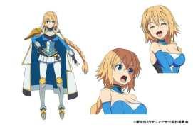 Han-Gyaku-Sei Million Arthur Character Visual - Dancho Arthur