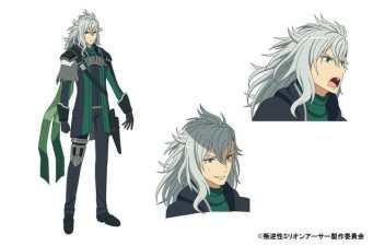 Han-Gyaku-Sei Million Arthur Character Visual - Ruro Arthur