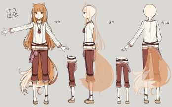 Spice and Wolf VR - Concept Art - Holo