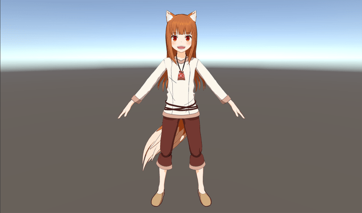 Spice and Wolf VR - Screenshot - Holo