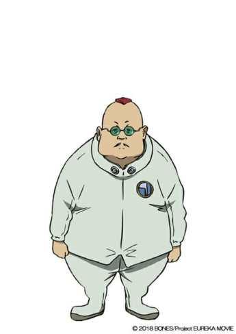 Anemone Eureka Seven Hi-Evolution Character Visual - Greg Bear Igan