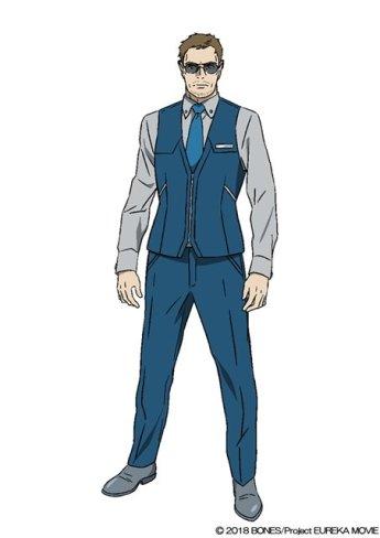Anemone Eureka Seven Hi-Evolution Character Visual - Oliver Brown