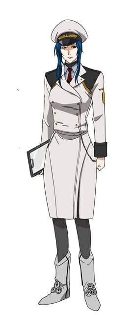 Space Battleship Tiramisu Character Visual - Le Blanc Spirit