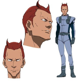 Mobile Suit Gundam NT Character Visual - Amaaja