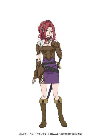 The Rising of the Shield Hero Character Visual - Myne