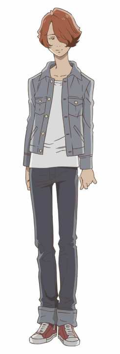 Carole and Tuesday Character Visual - Roddy
