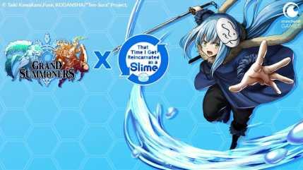 Grand Summoners Character Visual - Rimiru