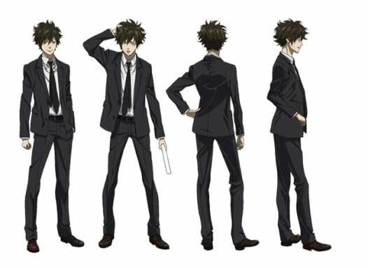 Psycho-Pass 3 Character Visual - Arata Shindo