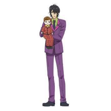 7Seeds Character Visual - Mark Ibaraki