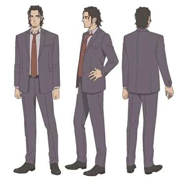 Cop Craft Anime Character Visual - Kei Matoba