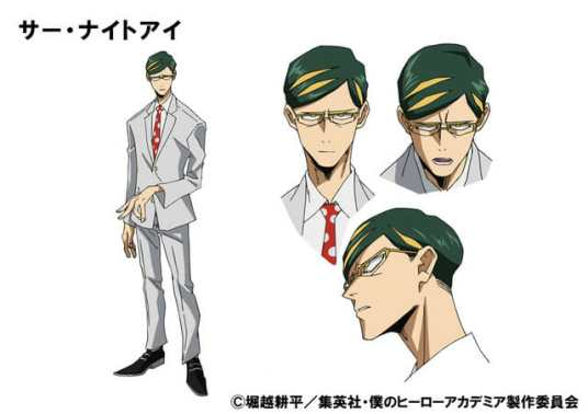 My Hero Academia Season 4 Character Visual - Sir Knight Eye
