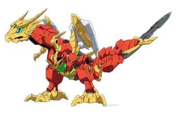 Gundam Build Divers ReRISE Mecha Visual - Gundragon
