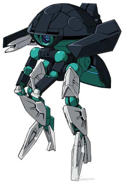 Gundam Build Divers ReRISE Mecha Visual - Wodom Pod