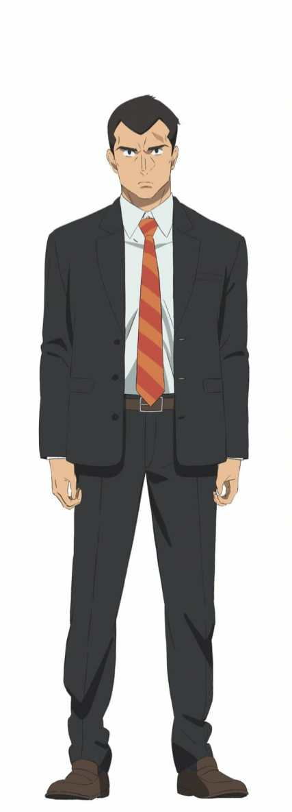 In-Spectre Anime Character Visual - Detective Terada